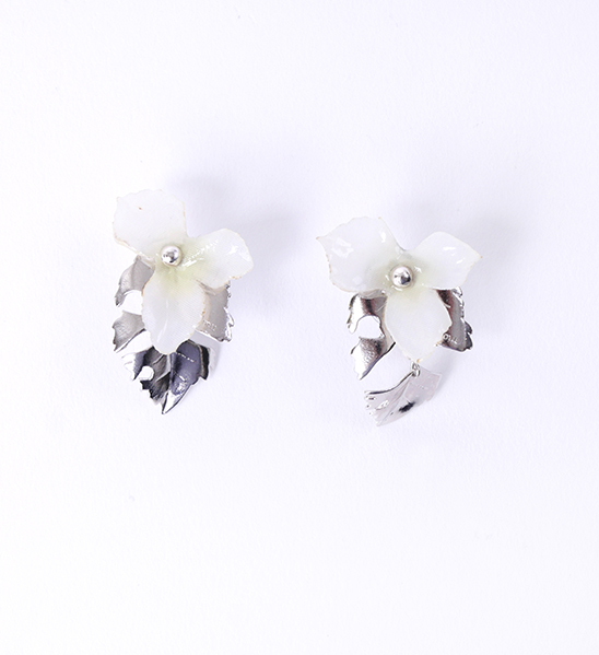 jelly flower/18 (silver)