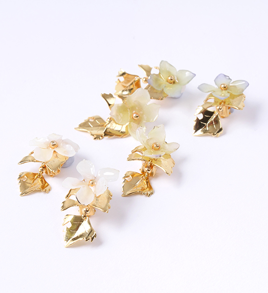 jelly flower/18 (gold)