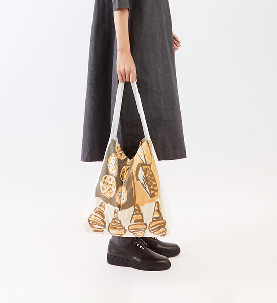 Shopping shoulder bag