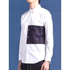 line / panel layer shirt (1/2)